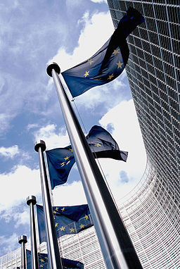 256px-European_flag_outside_the_Commission