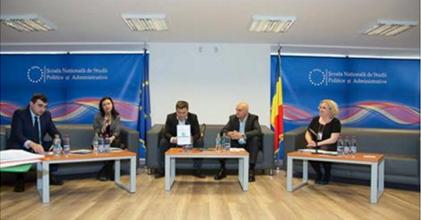Sorin Pîslaru (ZF), Daniela Nemoianu (KPMG), Andrei Pitiș (Vector Watch), Dan Bulucea (Google), Florina Pînzaru (SNSPA)